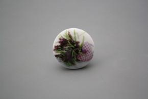 Porzellanknopfgriff 35mm Provence