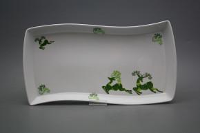 Platte 35cm Eureka Reindeers Green BB