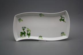 Platte 32cm Eureka Reindeers Green BB