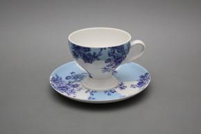 Teetasse 0,15l und Untertasse Christine Imari Blue LB