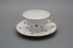 Teetasse 0,18l und Untertasse Maria Teresa Bouquet Streuer GL
